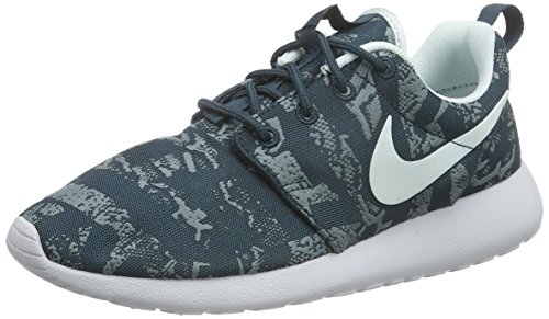 clearance 2014 outlet visit new Nike Women's Roshe Run Sneakers Midnight Teal Fibreglass Pure Platinum 430 buy cheap 2015 new ARg5NvuS