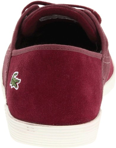 Lacoste Heren Andover Ciw Sneaker Donkerrood / Donkerrood