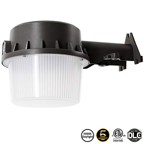 LED Yard Light LED Outdoor Barn Light 35W LED Dusk-to-Dawn (250-350W Equivalent), 5000K Daylight, Floodlight, ETL-listedard Light for Area Lighting, Wet Location Photocell Included,50K 1Pack