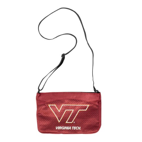 (NCAA Virginia Tech Hokies Jersey Mini Purse)