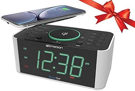 Amazon.com: Emerson ER100202 - Reloj despertador con radio y ...