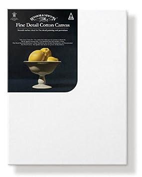 Winsor & Newton cotone–cotone–Tela montata su telaio fine, Legno, bianco, 18x24x2.1 cm 6045014