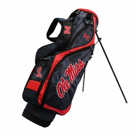 Team Golf 24727 Mississippi NCAA Nassau Stand Bag by Team Golf