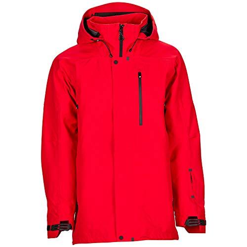 Bonfire Snowboarding Jacket - Bonfire Aspect 3L Stretch Jacket - Men's Red Medium
