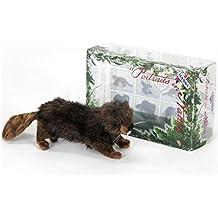 "Pack of 3 Life-Like Handcrafted Extra Soft Plush Beaver Stuffed Animal 6"""