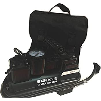 Bon-Aire Multipurpose auto Accessory Port 12 Volt Inflator TC12C with case