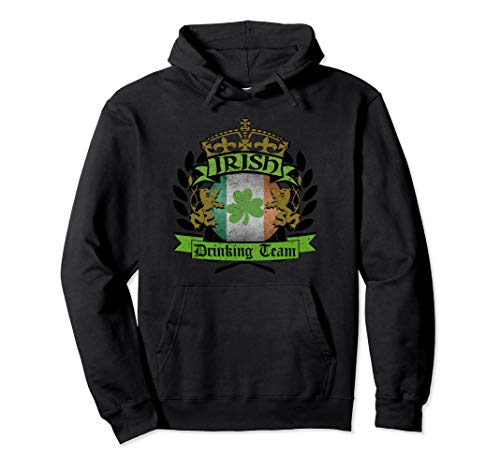 Irish Drinking Team Funny St Pat's Hoodie For Bartenders ()