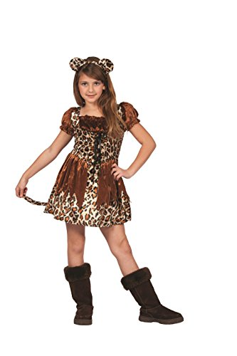 RG Costumes Cutie Cheetah, Child Large/Size 12-14