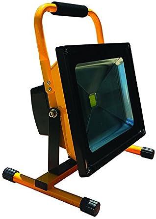 pronetelec Proyector de obra recargable (4H) 50 W LED 6500 K IP65