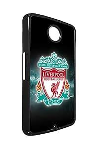 Google/LG Nexus 6 Fundas Phone Case Liverpool FC Football Club Ultra slim Fundas for Nexus 6, Customized Football Team Logo Fundas Case Liverpool Nexus 6 Fundas for Men