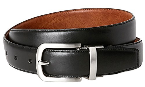 Cole Haan CHDM31035 Tan Black Men's Reversible Leather Belt (40)