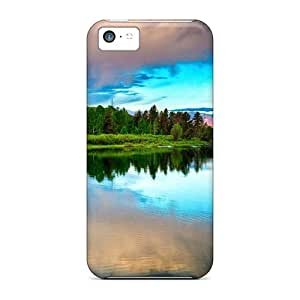 Special AnnetteL Skin Case Cover For Iphone 5c, Popular Great Colorful Nature Lscape Phone Case