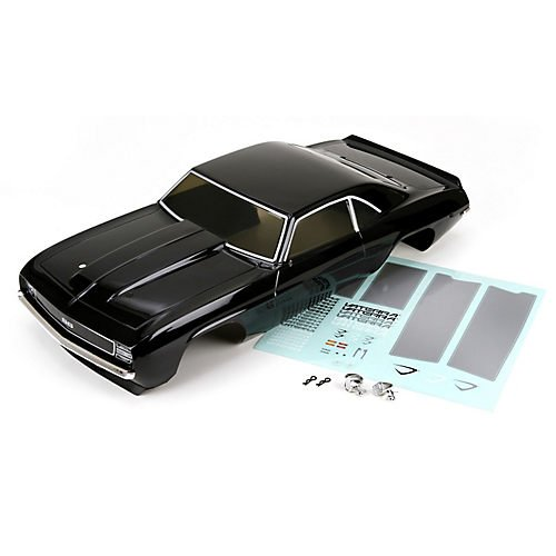 VATERRA 1969 Chevrolet Camaro SS V100 Body Set (1/10 Scale) (Body Camaro 1969)