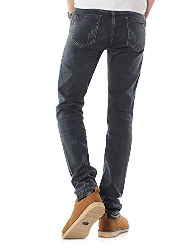Di Nn In Pantaloni 808b Della Jeans Morbido Fit Uomo Grau Da Moda Serie Eleganti Denim Vintage Ragazzo TwPqyUBdP