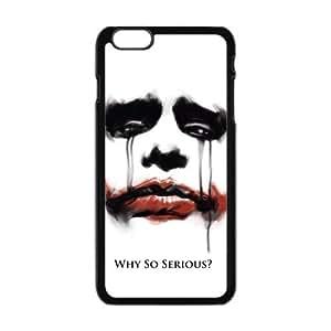 "Danny Store Hardshell Cell Phone Cover Case for New iPhone 6 Plus (5.5""), Joker Face"