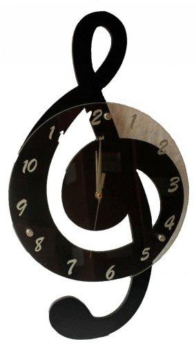 - Creative Motion Clef Music Clock