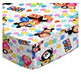 SheetWorld Fitted Pack N Play Sheet Fits Graco 27 x 39 - Tsum Tsum - Made in USA
