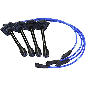 Cable Master High Performance Racing Spark Plug Wires Compatible ...