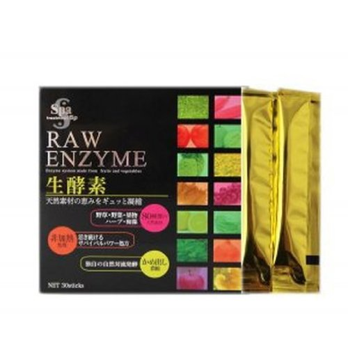 Spa treatment Raw Enzyme 3g x 30pack (Raw Enzyme Spa)