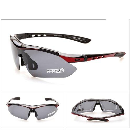 Outdoor peak damen und Herren Outdoor Sportbrille polarisierten Sonnenbrillen fahrradbrille Fünf Paar Linsen