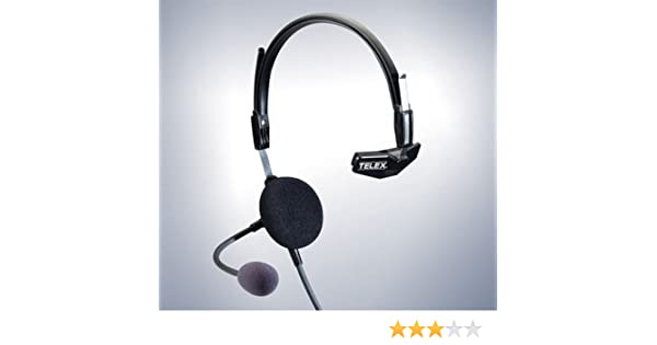 1dfce983ee1 Amazon.com  Telex Airman 750 Single Side Pilot Headset 64300-300  Cell  Phones   Accessories