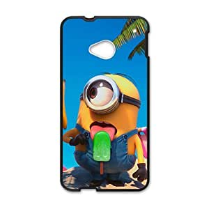 Cute naughty horarios de minions Cell Phone Case for HTC One M7