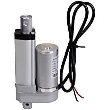 Multi-function 50mm 100mm 150mm 300mm 450mm Stroke DC12V Heavy Duty Motor 1500N/330lbs Max Lift Load Electric Linear Actuator (150mm/6inch)
