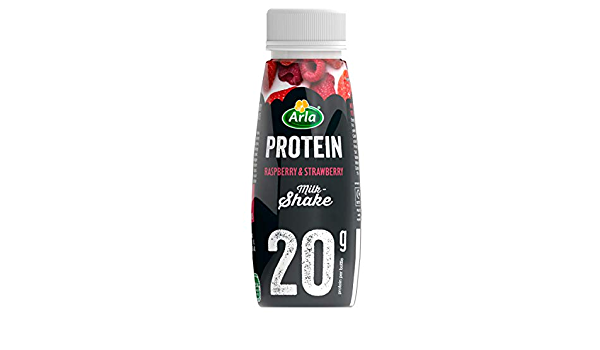 Arla Protein Batido Fresa y Frambuesa - 225 ml.: Amazon.es ...