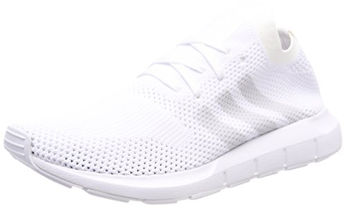 adidas Swift Run Primeknit, Sneaker Uomo Bianco (Ftwbla/Griuno/Ftwbla 000)