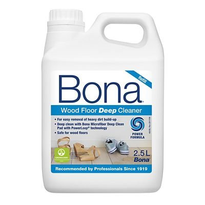Bona Wood Floor Deep Cleaner Refill, 2.5L - for use with The Bona Spray Mop Kit