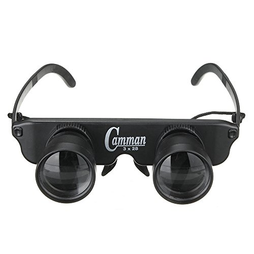 Bininbox Polarized Fishing Binoculars Sunglasses Zoom Optical Magnifier Eye Wear Glasses - Sunglasses With Polarized Fishing Magnifiers