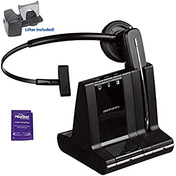 Amazon com: Plantronics Savi 740 Wireless Headset System for