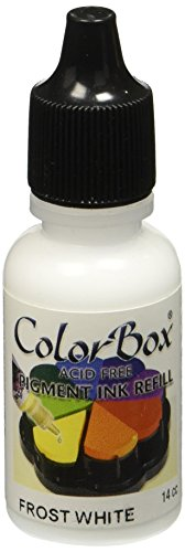 CLEARSNAP Colorbox Pigment Ink Refill-Frost - Colorbox Pigment Ink Crafters