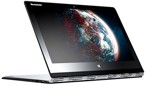 Price comparison product image Lenovo Yoga 3 Pro 80HE000LUS 13.3-Inch 8GB Soldered Convertible Ultrabook Tablet Touchscreen, Intel HD 5300 Graphics, Windows 8.1 Professional, Light Silver