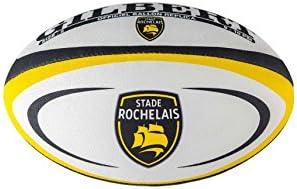 GILBERT Ballon de rugby REPLICA - La Rochelle - Taille 5: Amazon ...