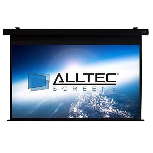 Alltec Screens ATS-E92HB Electric HDTV Format Projector Screen 92