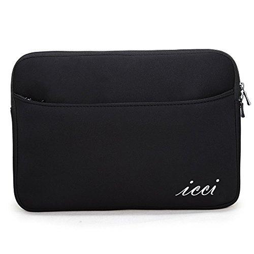 icci Universal 15.6 inch Ultrabook Laptop Notebook Sleeve Bag for Apple Macbook Pro Retina 15 - Colour Black