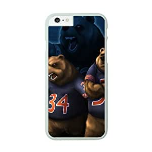 Case Cover For SamSung Galaxy Note 4 White Cell Phone Case Chicago Bears NFL Generic Phone Case For Girls NLYSJHA1821