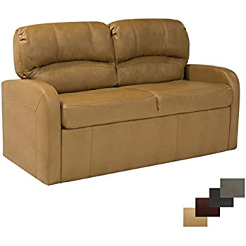"Amazon RecPro Charles 70"" Jack Knife RV Sleeper Sofa w Arms"