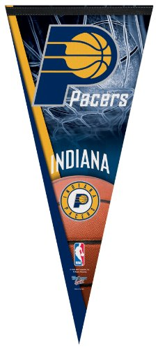 NBA Indiana Pacers Premium Quality Pennant 17-by-40 inch by WinCraft