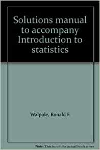 Amazon  Solutions manual to acpany Introduction to