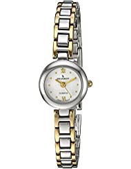 Peugeot Womens 753TT Two-Tone Bracelet Watch