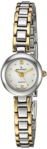 Peugeot Women's 753TT Two-Tone Bracelet Watch