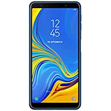 Samsung Galaxy A7 (2018) Single-SIM SM-A750FN 64GB Factory Unlocked 4G Smartphone - International Version (Blue)