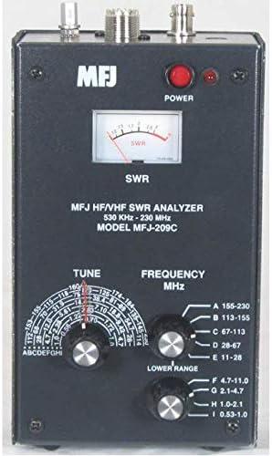MFJ-209C - Analizador de antena HF/VHF (530 kHz a 230 MHz ...