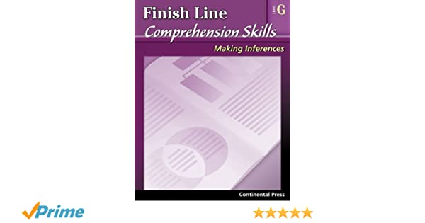 Reading Comprehension Workbook: Finish Line Comprehension Skills ...