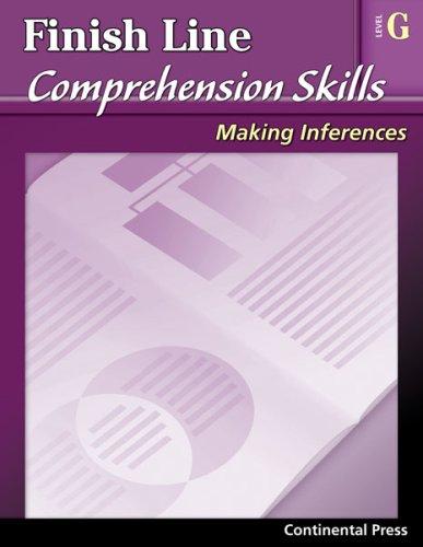 Reading Comprehension Workbook: Finish Line Comprehension Skills ...