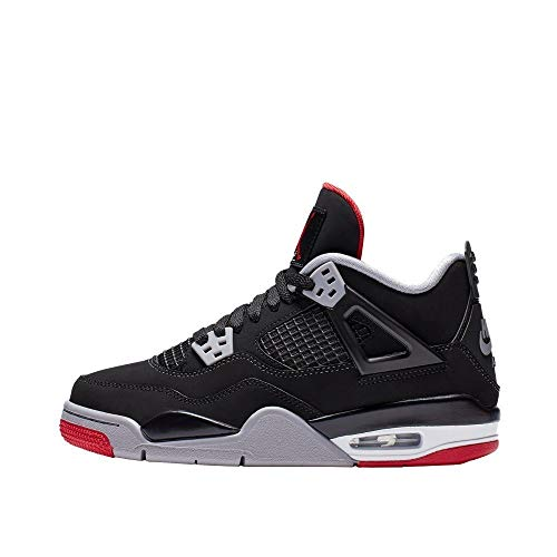 Jordan Air 4 Retro (gs) Kids bred 2019 Release 408452-060 (Size: 5.5Y)