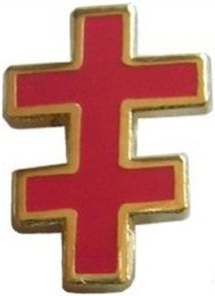 Knights Templar Chevalier templier Pin/'s maçonnique