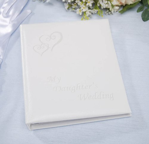 Darice VL42, My Daughters Wedding Album, Holds 48, 5-Inch-by-7-Inch